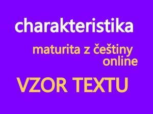 charakteristika-maturita-cjl-pisemna-prace